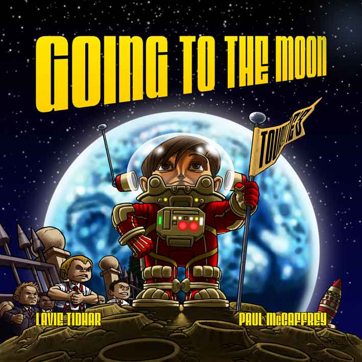 Going To The Moon cover by Paul McCaffrey