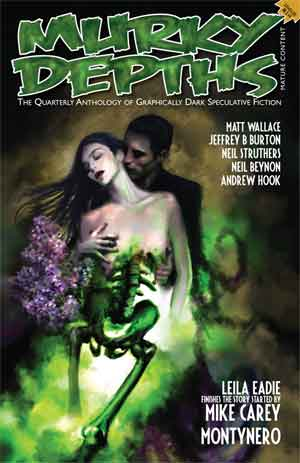 Front cover of Murky Depths issue 14